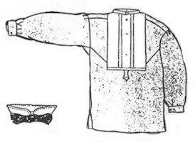 [1800s Dr Walker Dress Shirt Pattern] (1800s Dresses Costumes)