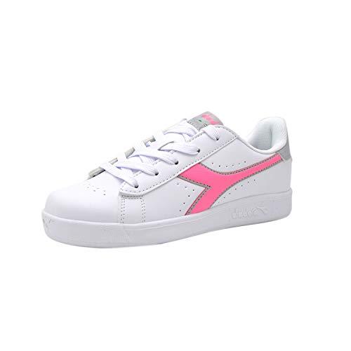 Game Sachet 101173339 50145 50145 Diadora Baby Sneaker Td Scarpe Bianca P Pelle In 01 Pink pqa4xt