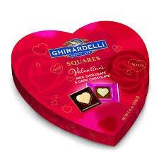 Ghirardelli Chocolate Box (Valentine Red Heard Box Ghirardelli Chocolate Assorted Candy 6.8 Oz)