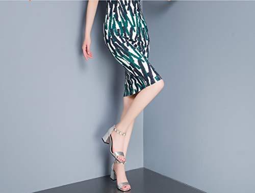 Open Heels Lady Fashion Summer Sandals 2018 Shoes Women High Toe New Ultimate Liangxie Plata Handmade Leather Peeps Platform vEFxwqqdA