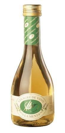 Vinagre de Menta Gourmet - 250 ml - Vinagre de España de Alta Calidad, Envejecido