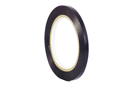 (WOD CVT-536 Black Vinyl Pinstriping Dance Floor Tape, Safety Marking Floor Splicing Tape (Also Available in Multiple Sizes & Colors): 1/4 in. wide x 36 yds. (Pack of 1))