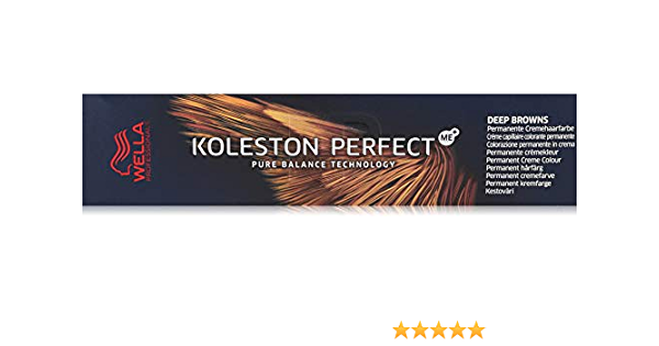 Wella Koleston Perfect Deep Brown - Tinte para el pelo, 60 ml