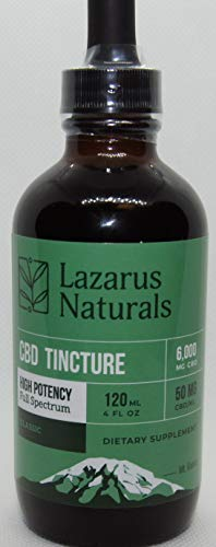 Lazarus Naturals Hemp Seed Oil & Hemp Extract - for Pain Relief and Anti-Anxiety Support - All-Natural Ingredients - Promotes Relaxation & General Good Health - High Potency (6000mg) (Bulk Natural Oils)