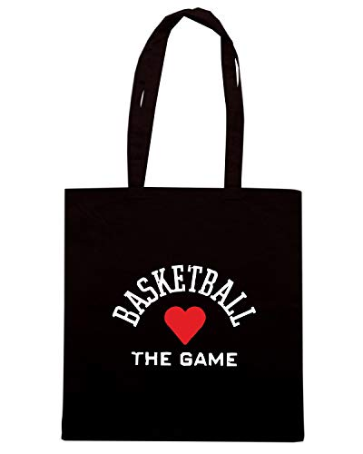 TLOVE0090 Speed Borsa Nera BASKETLOVEWHTPNG Shirt Shopper wwOIU0q