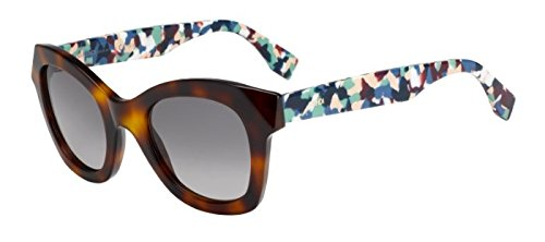 FENDI 0204/S HAVANA 5MU 48MM - Sale Fendi Sunglasses