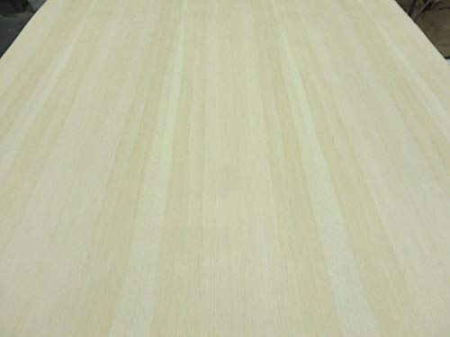 "Pine White wood veneer 24"" x 48"" with paper backing 1/40"" thickness A grade"