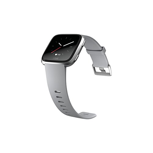 Fitbit Versa Smartwatch, Gray/Silver Aluminium, One Size (S & L Bands Included) by Fitbit (Image #3)
