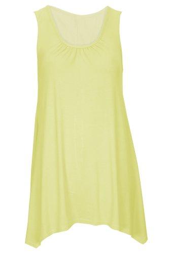 Baleza - Camiseta sin mangas - para mujer amarillo