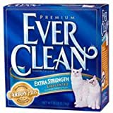 Ever Clean Extra Strength Cat Litter, Unscented, 42 Pound Box, My Pet Supplies