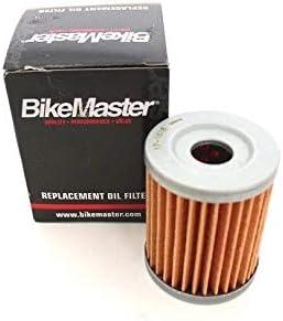 BossBearing BikeMaster Oil Filter for Suzuki LTF4WDX King Quad 300 1995 1996 1997 1998