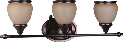 Volume Lighting Camden 3-Light Florence Bronze Bathroom Vanity