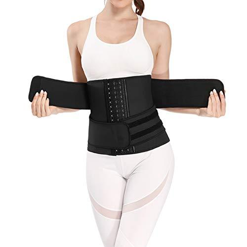 Faja Adelgazante Mujer,Waist Trainer Mujer,con 9 Huesos de Acero Corset,Fajas Colombianas,Faja Reductora Mujer,Corsets Reductor Cinturilla Moldeadora Bustiers,Fajas Cinturilla(SizeM)