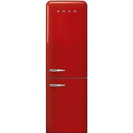 Smeg FAB32RRD3 nevera y congelador Independiente Rojo 331 L A+++ ...