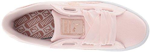 Gold Rose Pearl Wn Basket Puma Sneaker Women's White Heart PUMA Canvas 6B1q1g