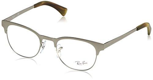 Ray-Ban Eyeglasses RX6317 2835 Matte Silver 49 20 - Ray Ban 6317