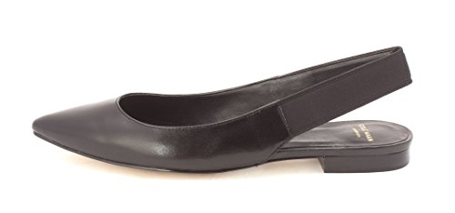 Cole Haan Womens 14A4151 Pointed Toe Slingback Slide Flats Black 5dfBhcLZ3