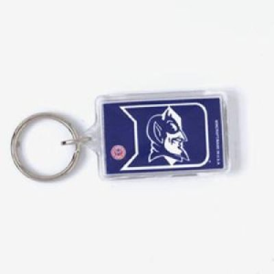 Duke Blue Devils Acrylic Key Ring - Duke Blue Devils Gym Bag