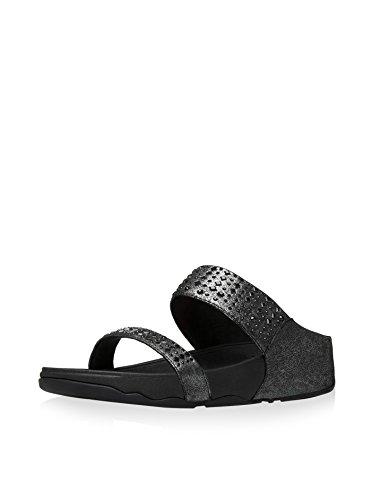 Fitflop Novy Tm - Sandalias de cuña Mujer Negro