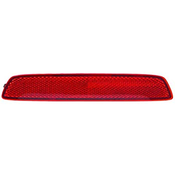 New Rear Left Driver Side Bumper Reflector Light For 2010-2015 GMC Terrain /& 2013-2016 Chevrolet Trax GM1184109