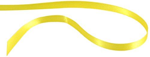 Kel-Toy Inc Kel-Toy Double Face Satin Ribbon, Lemon (Lemon Ribbon)