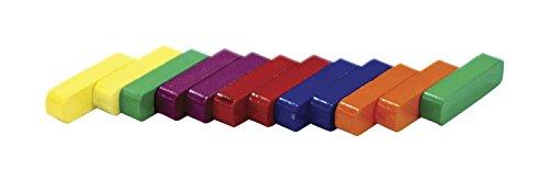 "Dowling Miner Magnetics CAT514 Ceramic Coated Bar Magnets, 7/8"" Length, Assorted Color"