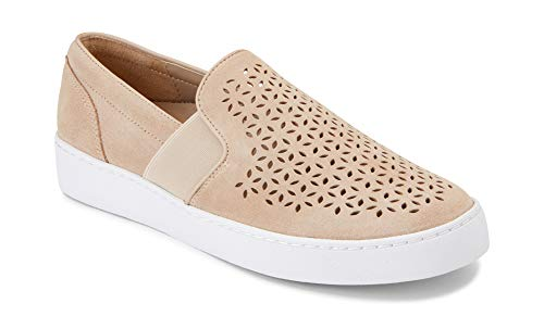 Vionic Women's Splendid Kani Slip-on Walking Shoes - Ladies Athleisure Sneakers with Concealed Orthotic Arch Support Nude 7 M US