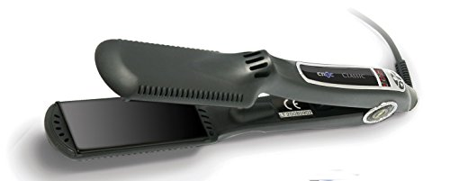 Croc classic flat Iron 1.5 inch black titanium digital straightener hair iron