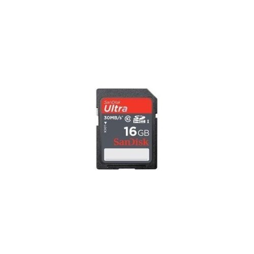 SanDisk Ultra 16GB SDHC Class 6 Flash Memory Card Speed Up To 30MB/s- SDSDH-016G-U46