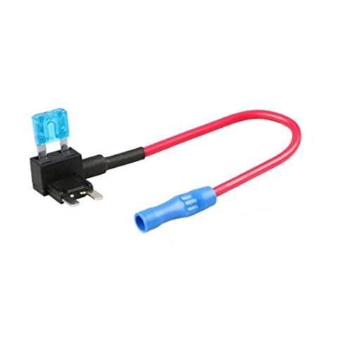 ZOOKOTO 12V Car Add-A-Circuit Fuse 15AMP TAP Adapter Small ATO APS ATT Blade Fuse Holder 15A