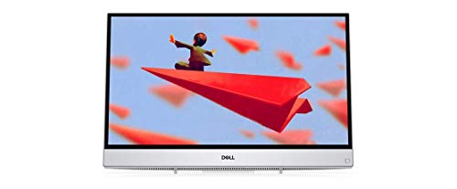 """Dell Inspiron All-in-One Desktop Computer/ 23.8"""" Full HD Touchscreen/ AMD A9-9425 Up to 3.7GHz/ 16GB DDR4/ 256GB SSD/ 802.11AC WiFi/ Bluetooth 4.1/ USB 3.1/ HDMI/ White/ Windows 10 Home"""