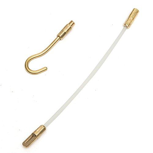 15Pcs 30Ft Fiberglass Running Cable Wire Kit C/âble /Électrique Coaxial Installation De LOutil De Tiges