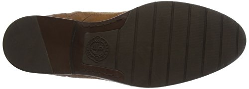 Low Para Mujer brown Nashoba Leather Sebago Botines Wp Marrón Ht5Wq