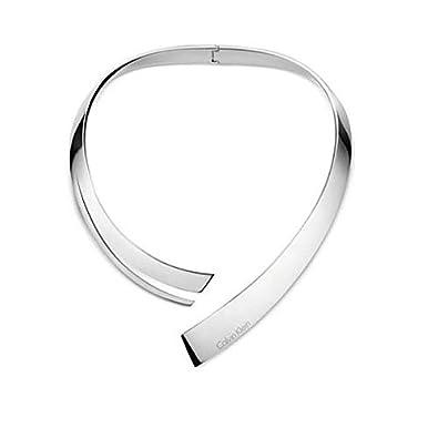 fashion styles popular stores cute Amazon.com: Calvin Klein KJ3UMJ000100 Ladies Beyond Silver ...