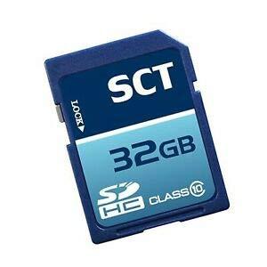 SCT - Tarjeta de Memoria SDHC (32 GB, Clase 10, SCT): Amazon ...