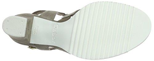Open Beige Women's Sandals Toe Gabor YfFq0T