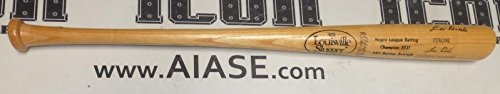 Lou Dials Signed Baseball Bat COA 1931 Negro League Pro Model Autograph - PSA/DNA Certified - Autographed MLB Bats