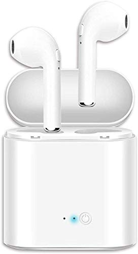 Bluetooth Wireless Earbuds,TWS Wireless Earbud Headphones with Charging Case,3D Stereo Sound in-Ear Headsets Sports Running Headphones Compatible for airpods Android/iPhone