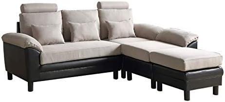 ソファー 3人掛け ソファーベッド ゆったり ソファ おしゃれ L字 コーナーソファー 大きい 組立簡単 2WAY ファブリック 日本発送 2-4日配達可