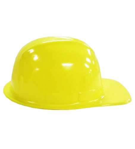 Yellow Construction Hat For Adults 12 Plastic Hard Hats By