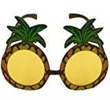 Tropical Hawaiian Novelty Sunglasses - Single