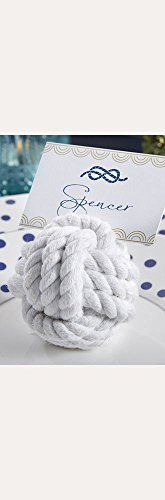 (Nautical Cotton Rope Place Card Holder Set of 6 Style 29043NA)
