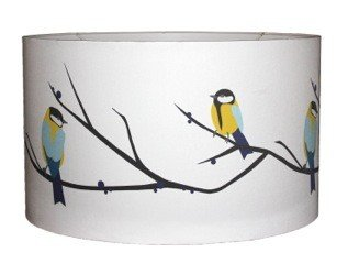 Juneberry and bird lampshade small amazon kitchen home juneberry and bird lampshade small mozeypictures Choice Image