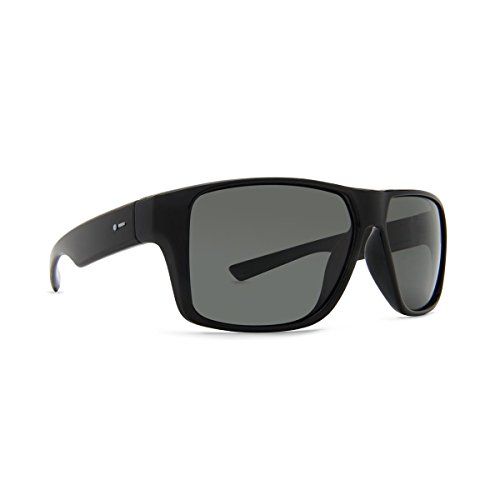 (Dot Dash Turbo Mens Polarized Sunglasses Black / Grey Poly)
