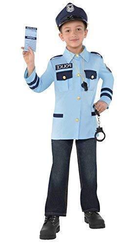 Fancy Me Conjunto de Disfraz de Policía para Niños y Niñas ...
