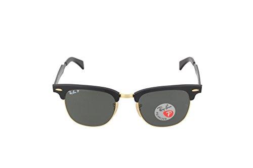 Ray-Ban Clubmaster Aluminum Square Sunglasses