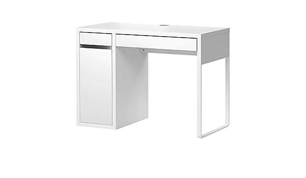 IKEA micke Escritorio oficina, blanco 105 x 50 cm: Amazon.es ...