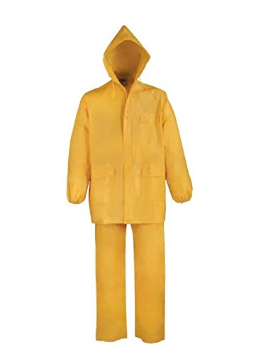 Amazon.com: Diamondback Medium 2pc PVC amarillo Rainsuit ...