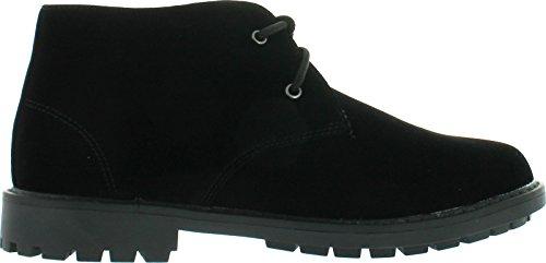 Flygande Rådjur Mens Suntum-1 Chukka Boots Svart