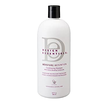 Amazoncom Design Essentials Moisture Retention Shampoo 32oz